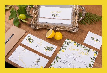 Una boda con limones